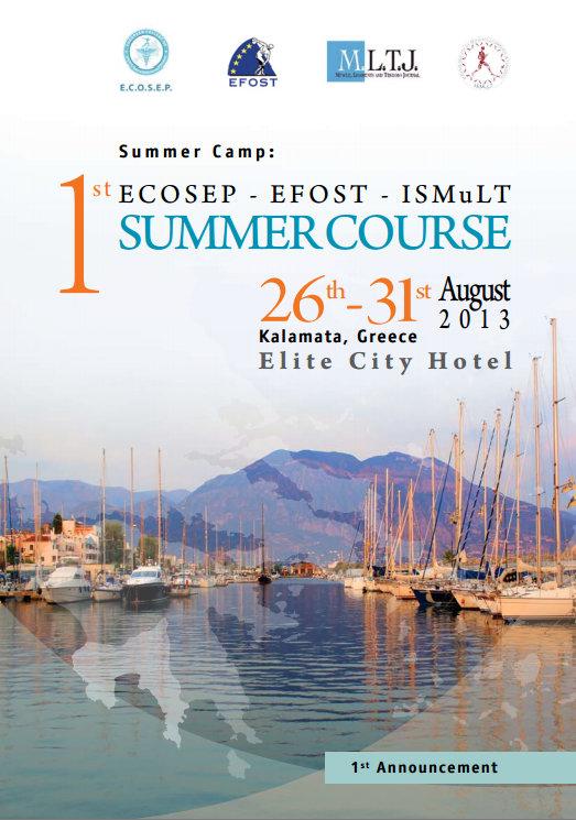 2013-ECOSEP - EFOST - ISMuLT