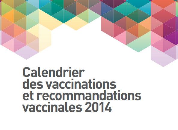 calendrier vaccins 2014