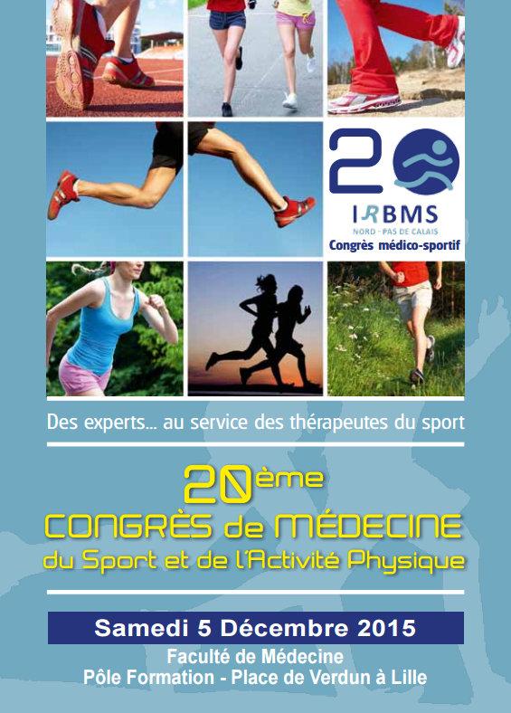 20ème Congrès de Médecine du Sport et de promotion du Sport Santé